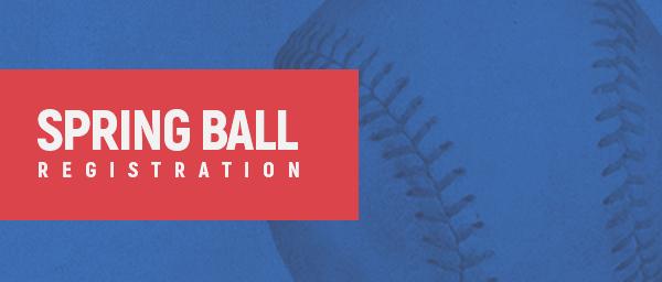 Spring Ball Registration