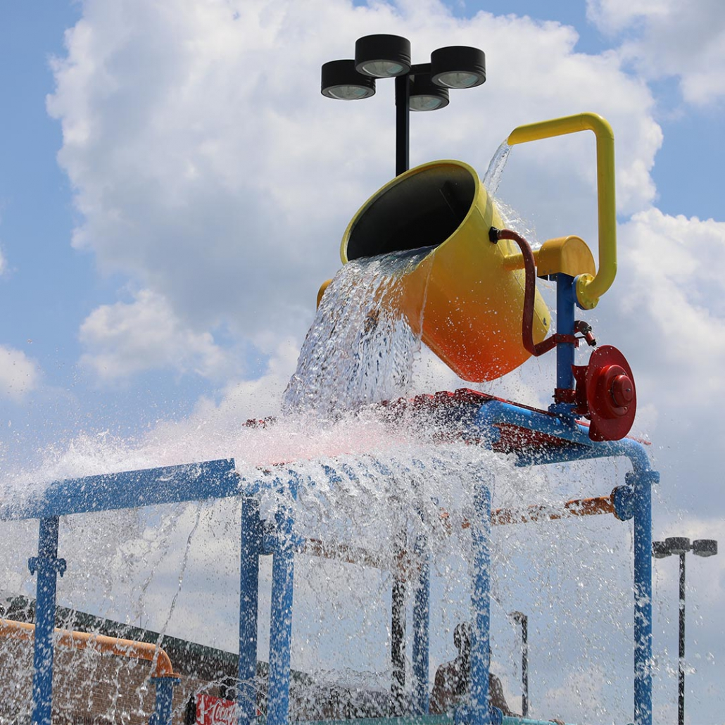 Splash Station is perfect for kids!